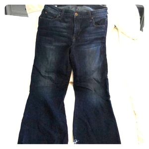 """Joes Jeans """"The Olivia"""" mid rise cropped flare"""